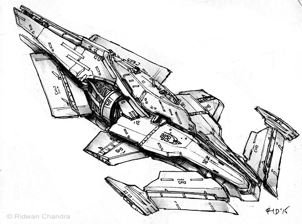 Space Speeder by MeganeRid
