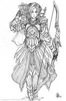 Elven Archer Reya