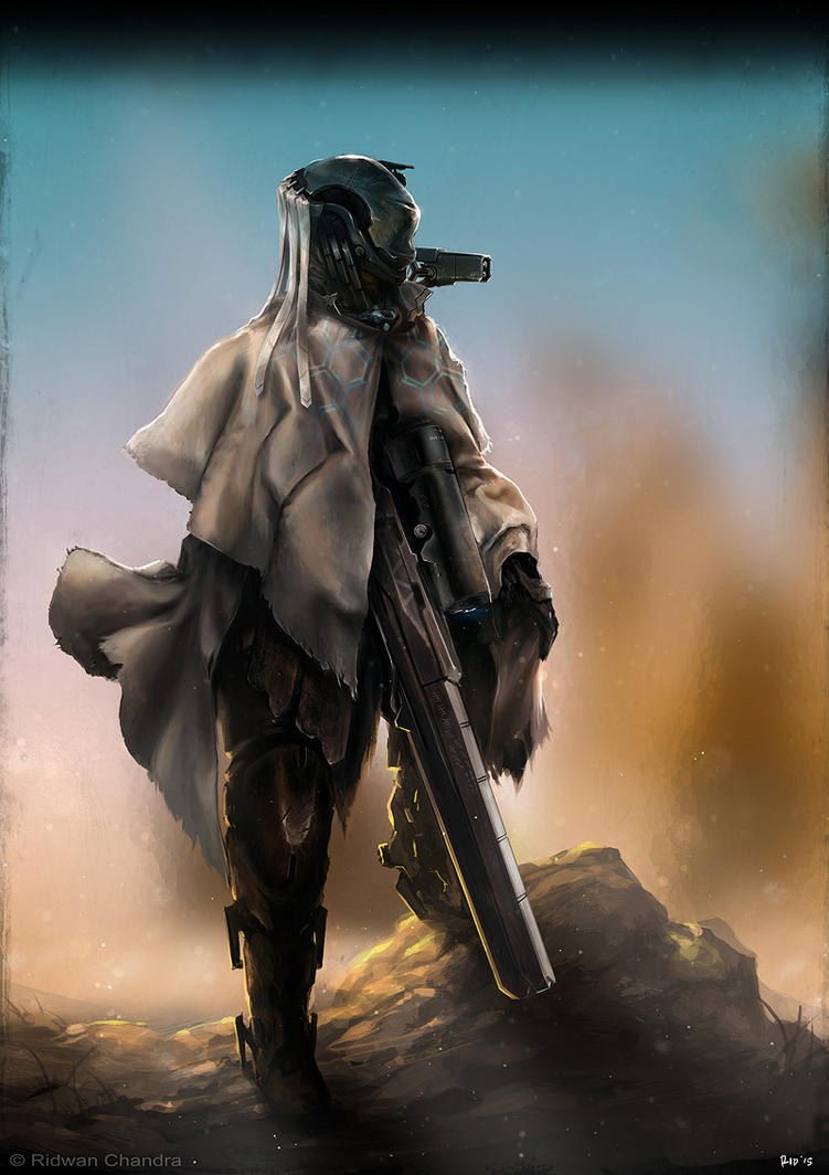 Desert Sniper by MeganeRid