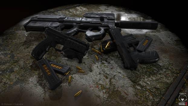 Guns and Rifle