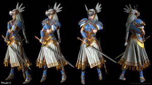 Valkyrie Profile Lenneth Posed WIP