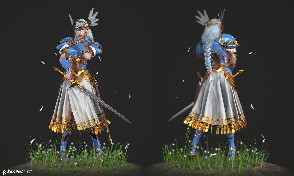 Valkyrie Profile Lenneth Final by MeganeRid