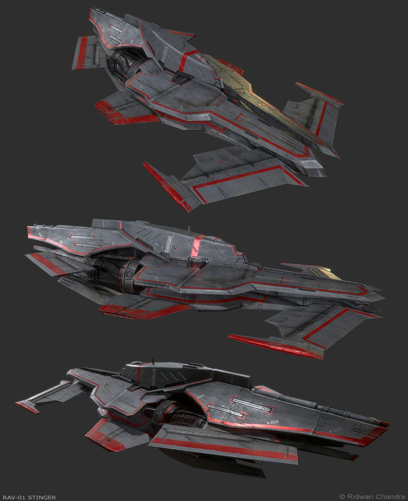 RAV-01 Stinger by MeganeRid