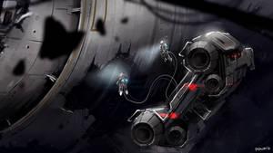 Speedpaint - Space Salvage