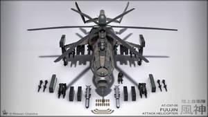 Fuujin Attack Helicopter Camo Ver.