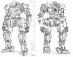 Commission - Mecha - (Genesis) GE-L101