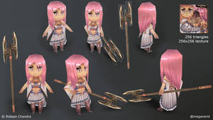 Spear Mage SD Model