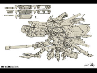 XrE-01A Amaranthus by MeganeRid