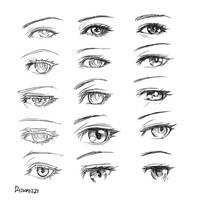 Random Anime Eyes