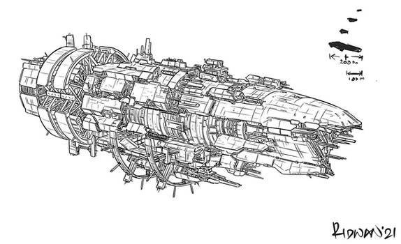 Commission - Capitol Ship Essex