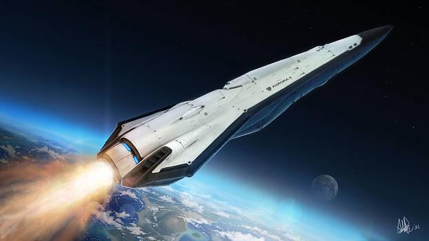 Scifi Shuttle Starship