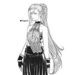 Ponytail Girl