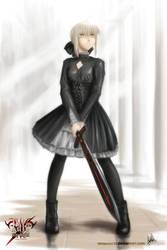 Black Saber by MeganeRid