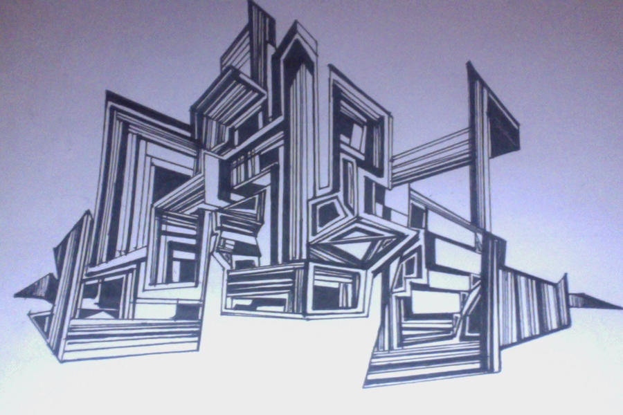 Straight Line In Art Studio : Doodle city straight lines by toga vibes on deviantart