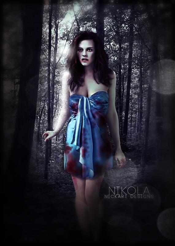 Saga CREPÚSCULO - BREAKING DAWN 1 (Amanecer 1ª parte) - Página 3 Bella___the_hunt_scene_by_nikola94-d3cd7mz