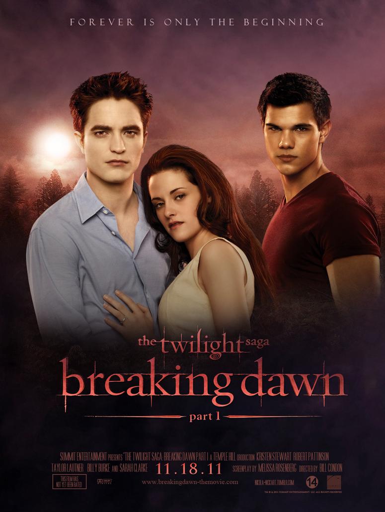 Breaking Dawn - Poster by Nikola94