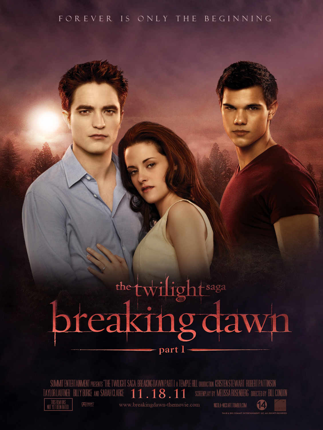 Breaking Dawn - Poster by Nikola94