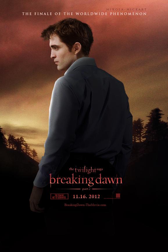 Breaking Dawn Part 2 - Poster 2 by Nikola94
