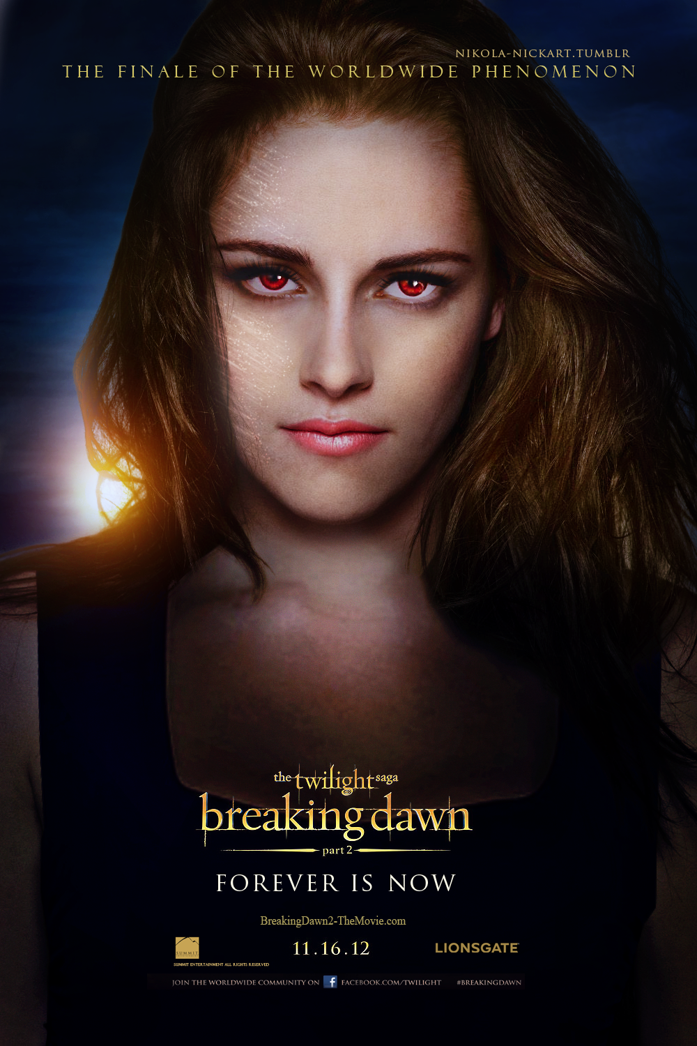 Breaking Dawn Part 2 - Bella by Nikola94