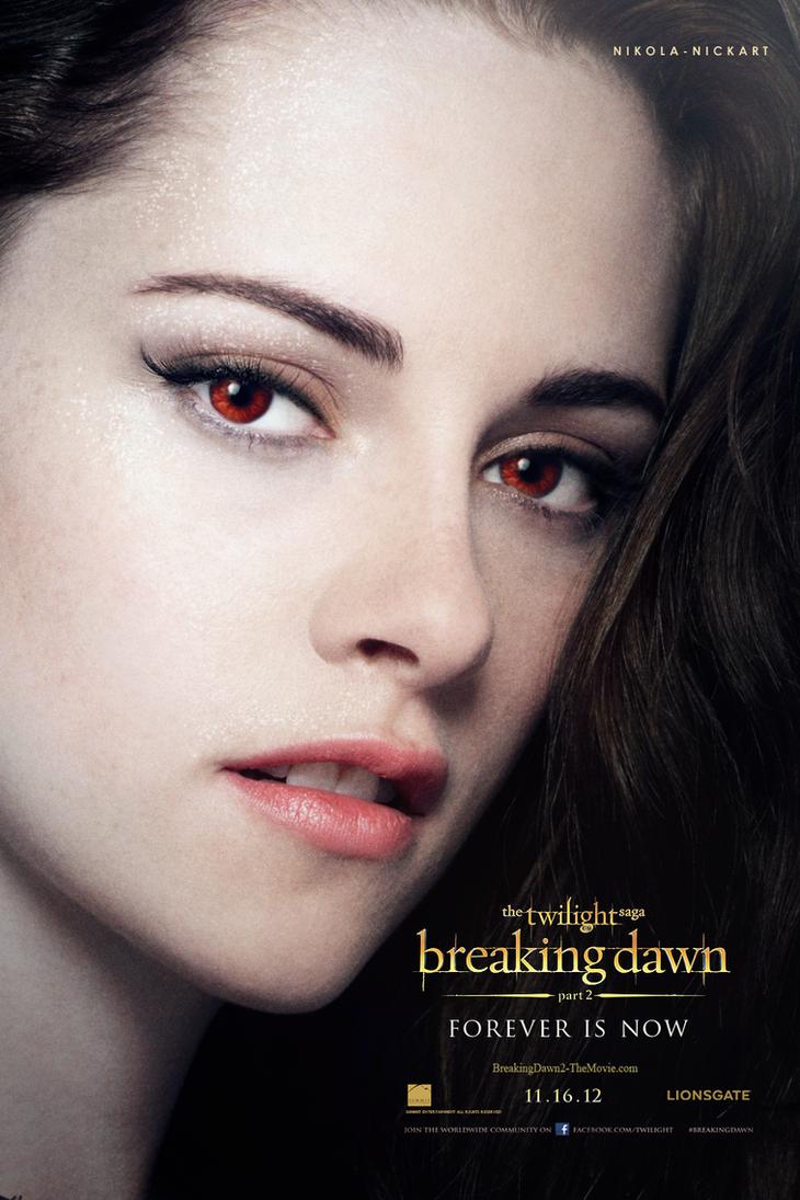 Breaking Dawn Part 2 - Bella Poster by Nikola94