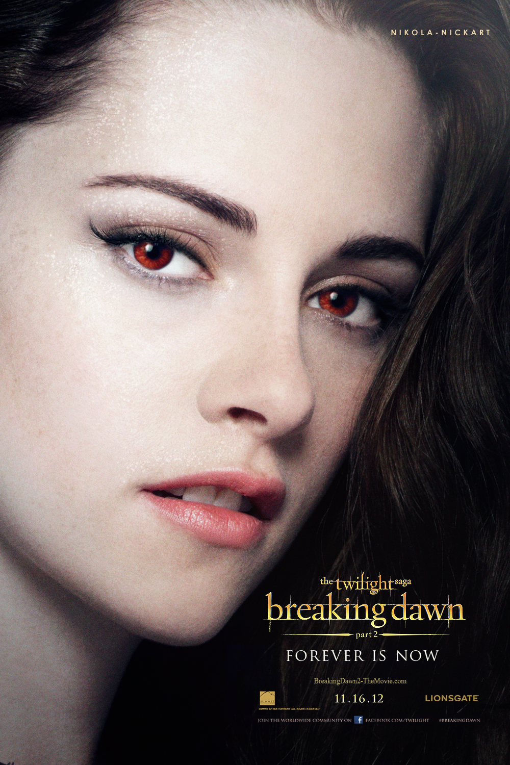 Breaking Dawn Part 2 - Bella Poster by Nikola94