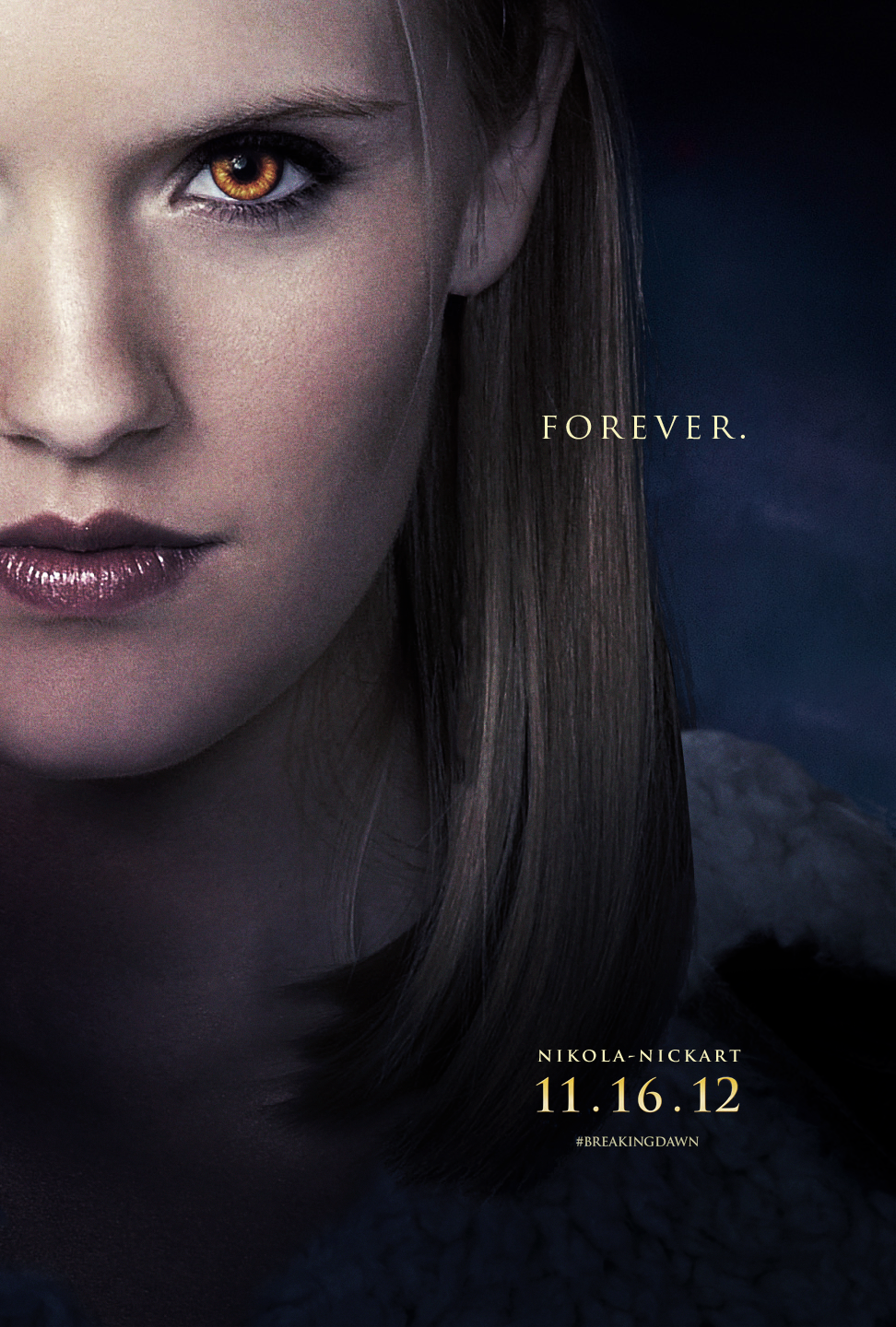 Irina - Breaking Dawn Part 2 Poster by Nikola94