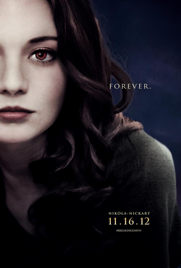 Yvette - Breaking Dawn Part 2 Poster by Nikola94