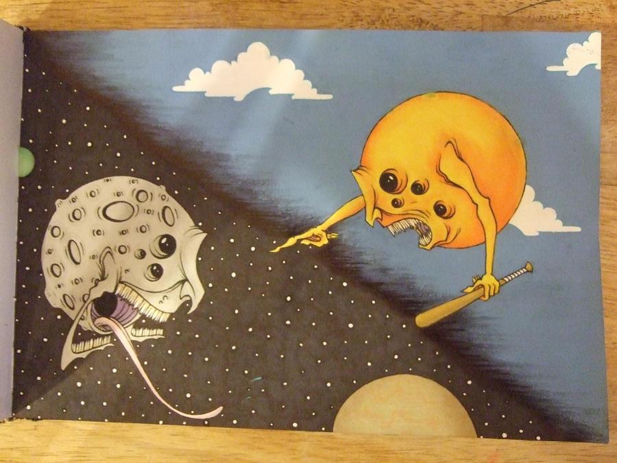 The Sun vs The Moon by KiER-MDC