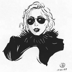 Implied Gaga by ENERjAKzero