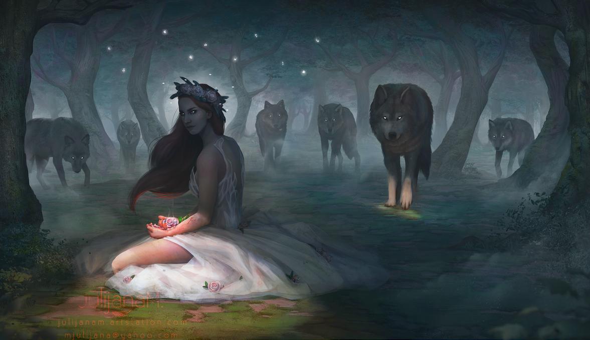 Wolf Speaker by JulijanaM