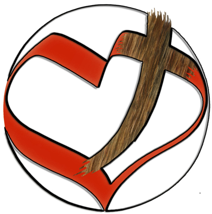 Church of Christ heart logo by RoyLeandro