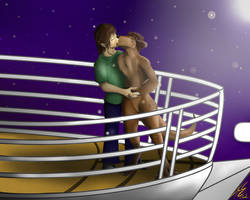 Me and Rosie Titanic Love Scene by Otterman89