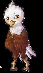 Jaimie Eagle Chibi Form by Otterman89