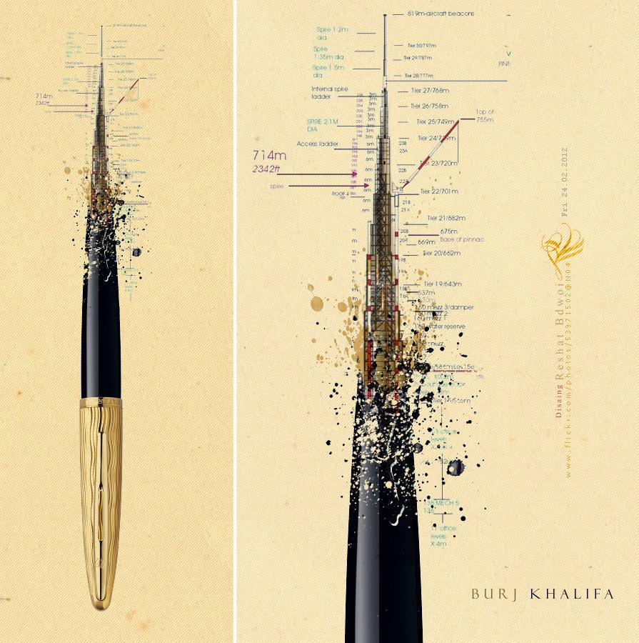 BURJ KHALIFA by RESHAT-BDWOI