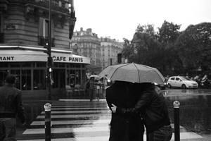 Paris in the rain by icarus-ica
