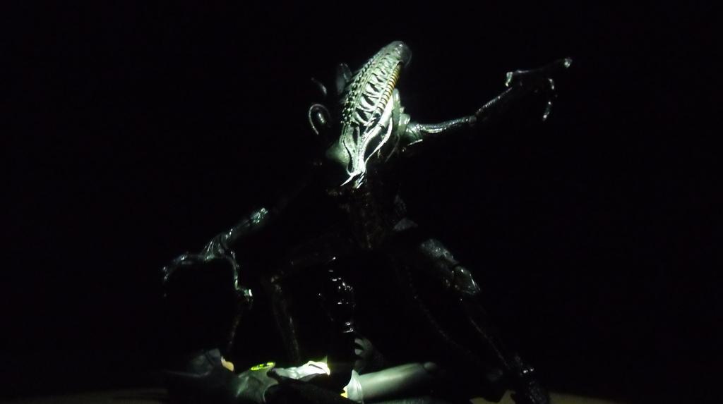 batman vs alien by - photo #8