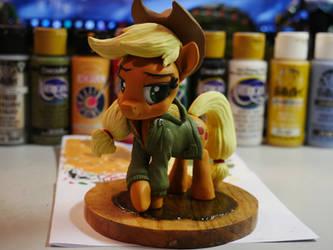 BronyCon 2019 - PonySculptors Collab - Applejack