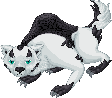 Niverius - The Fanged Wyvern of the Blizzard by AmericanGirlHope