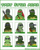 TMNT Style Meme Edward by DNLnamek01