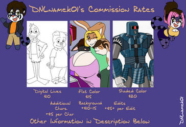 Commission Rates 2018 by DNLnamek01