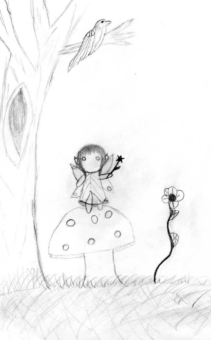 little fair baby by EvilDeathChild