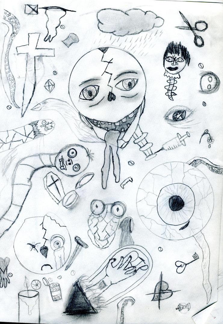 doodles by EvilDeathChild