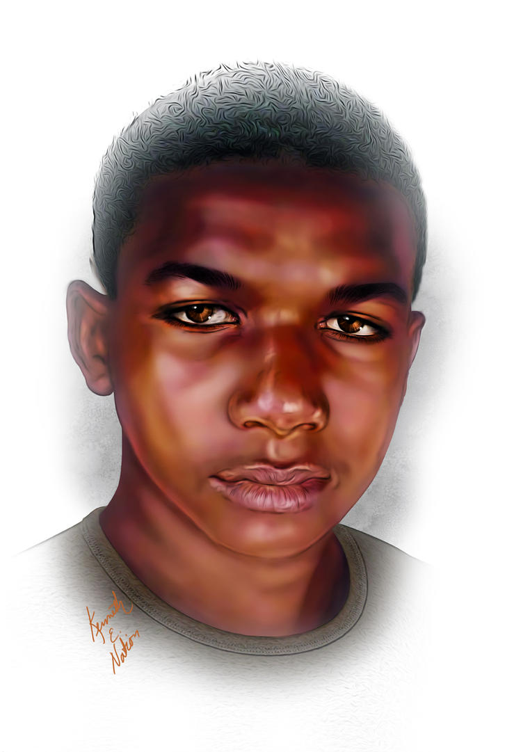 Trayvon by kenernest63a