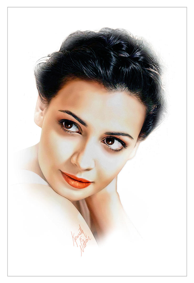 Dia Mirza by kenernest63a