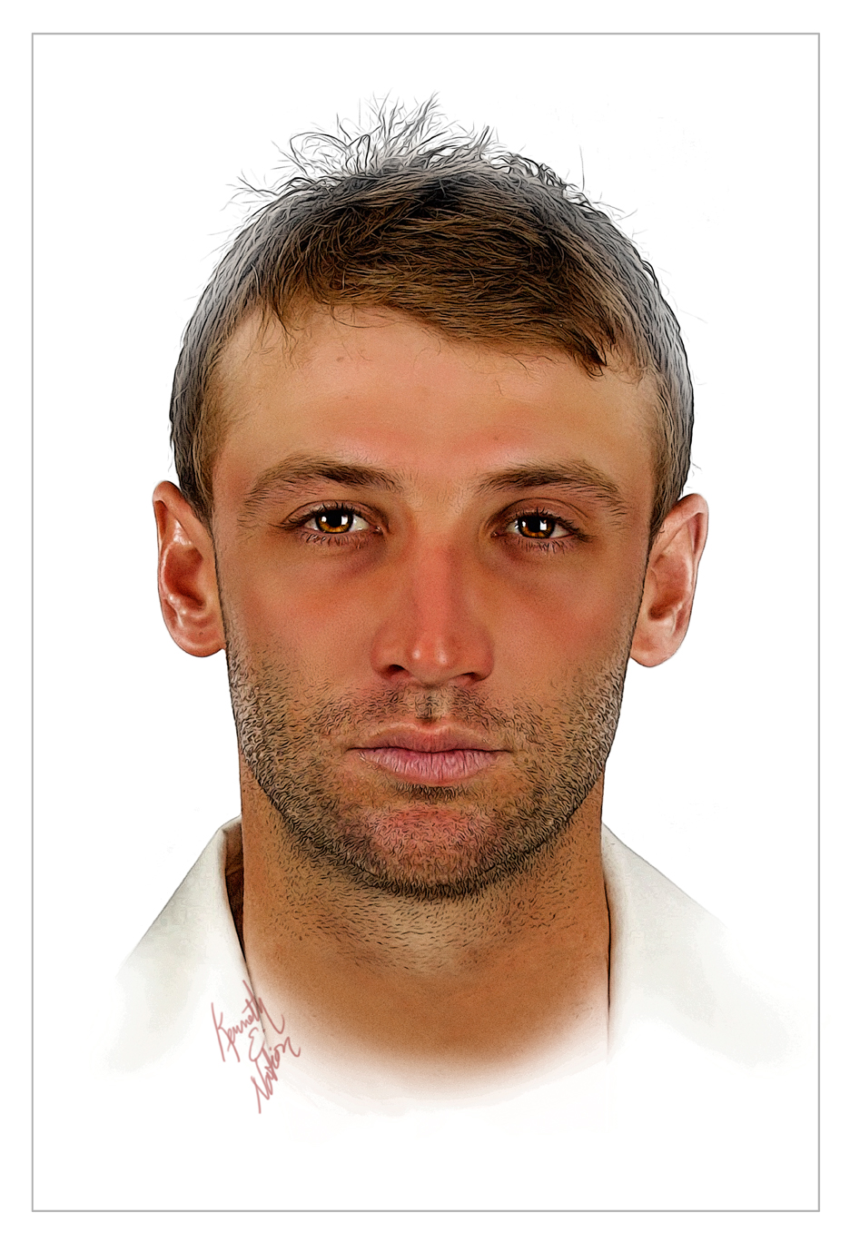 Phillip Hughes by kenernest63a