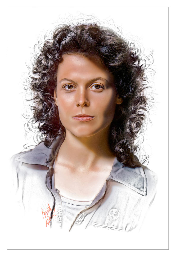 Ellen Ripley by kenernest63a