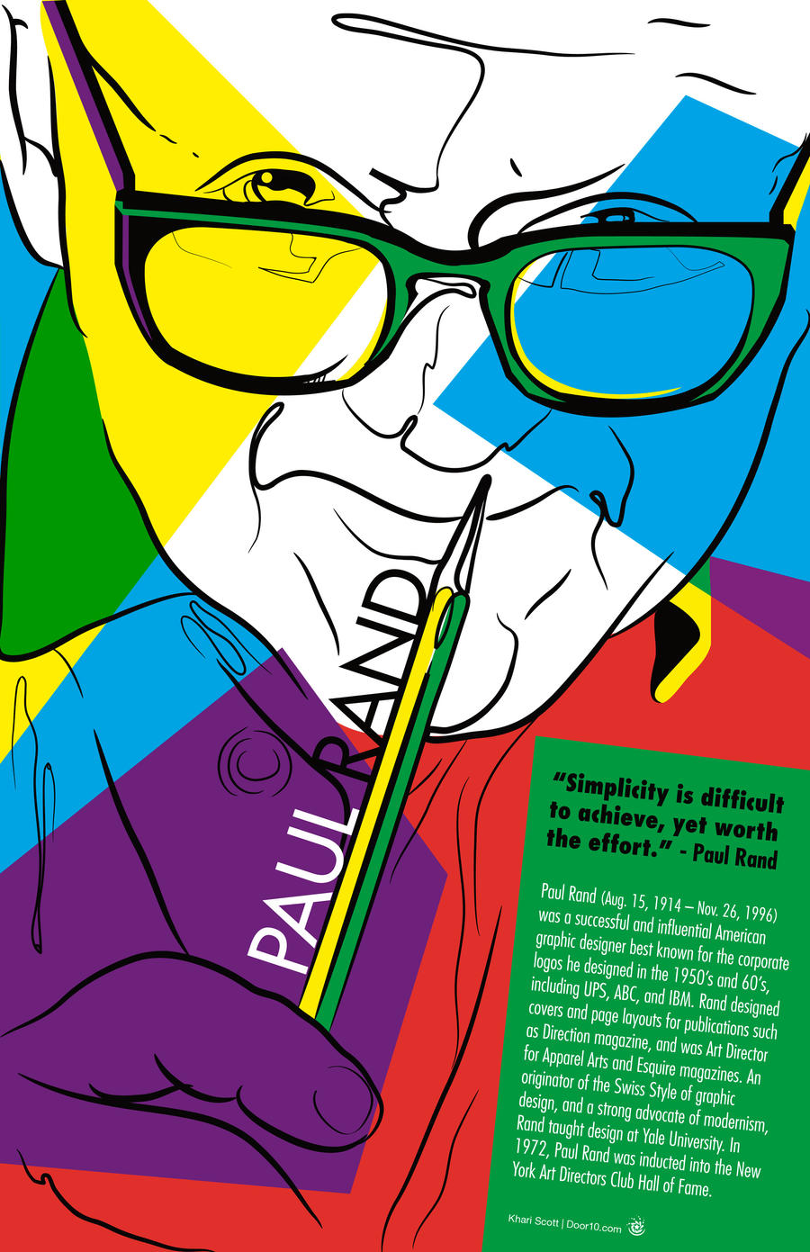 Paul Rand Tribute by i-Of-The-Storm on DeviantArt