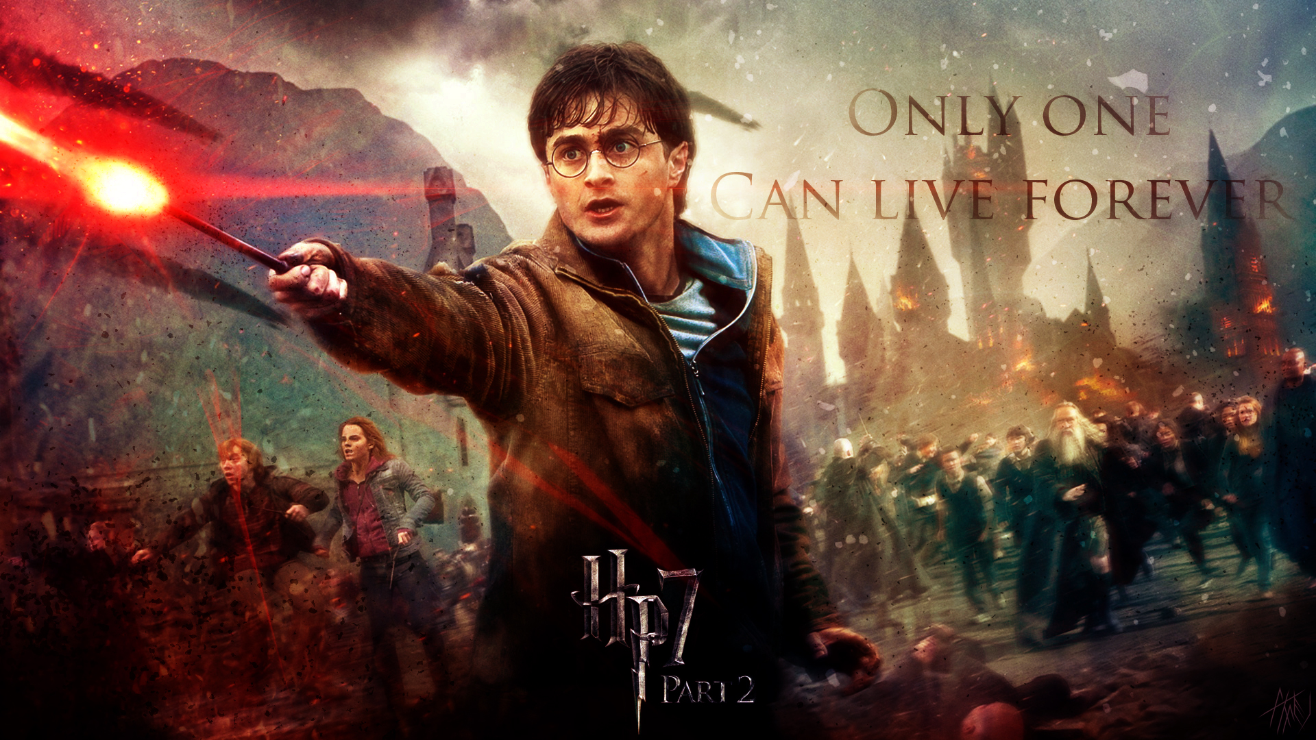 Harry Potter And The Deathly Hallows Wallpaper By Dj Applej Sound