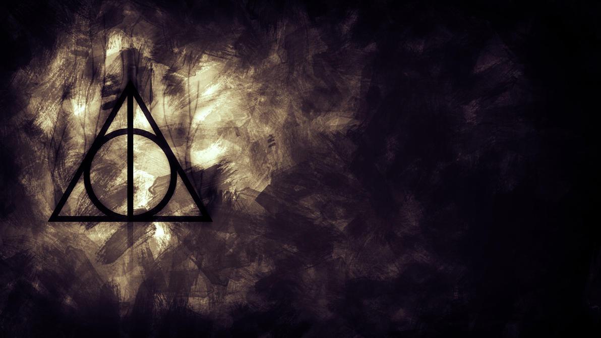 Deathly Hallows Symbol Galaxy Wallpaper | www.imgkid.com ...