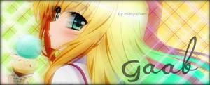 Gaab sign - Isurugi Mio